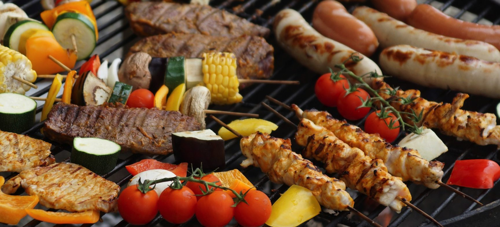Getting your grill ready for a backyard barbecue